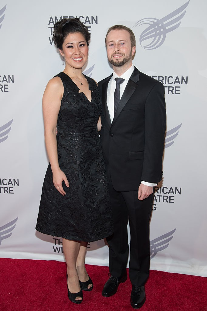 Ruthie Ann Miles e o marido Jonathan Blumenstein  (Foto: Getty Images)