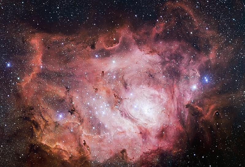 Plasma astrofíisco (Foto: ESO/VPHAS/Wikipedia)