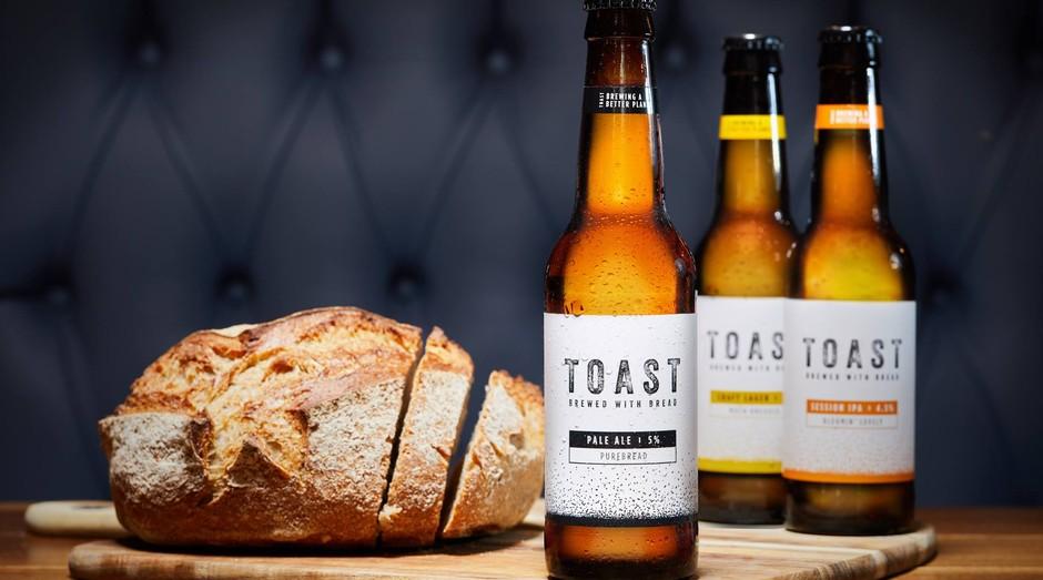 Toast Ale já tem vendas anuais superiores a R$ 4,7 milhões com sua cerveja feita de pão (Foto: Facebook/Toast Ale)
