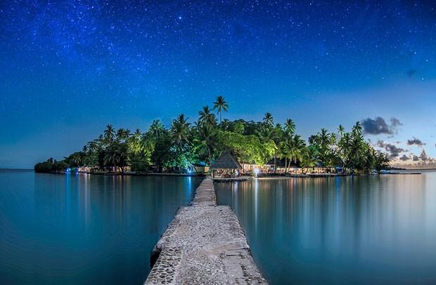 Esta ilha paradisíaca em Fiji pode ser sua (Foto: Divulgação)