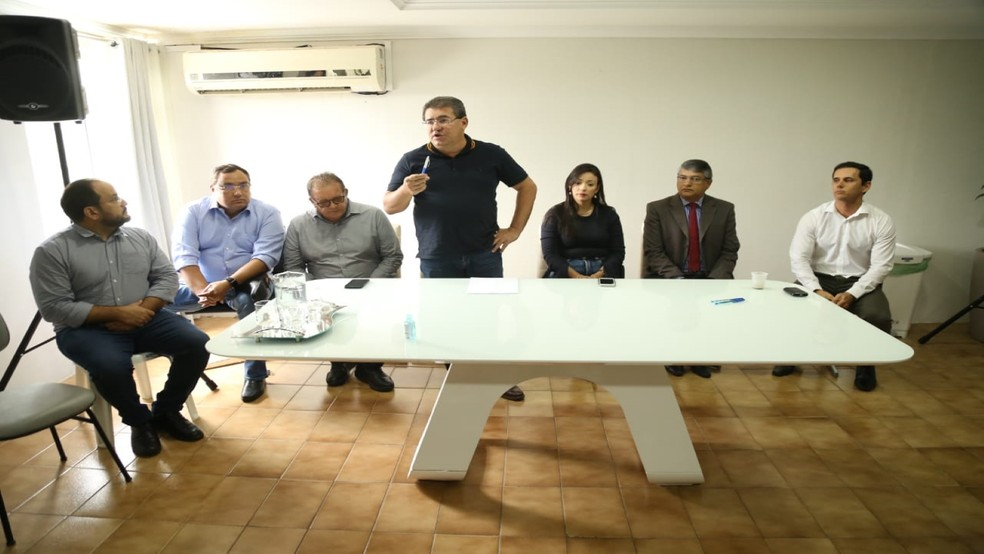 Prefeitura de Serra Talhada divulga medidas de prevenção contra o coronavírus — Foto: Dudu Teles