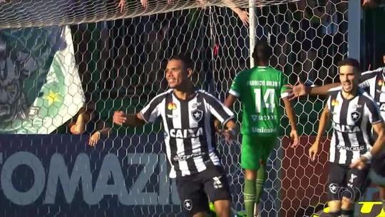 Gols Tocantinenses: Luiz Fernando marca contra a Chape e tira Botafogo do sufoco