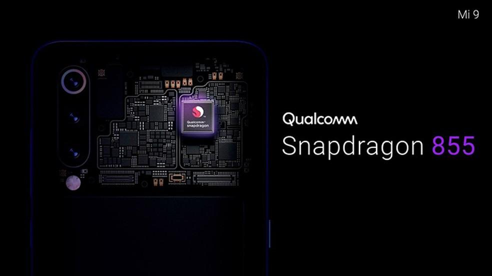 Xiaomi Mi 9 tem processador Snapdragon 855 e até 12 GB de RAM — Foto: Divulgação/Xiaomi
