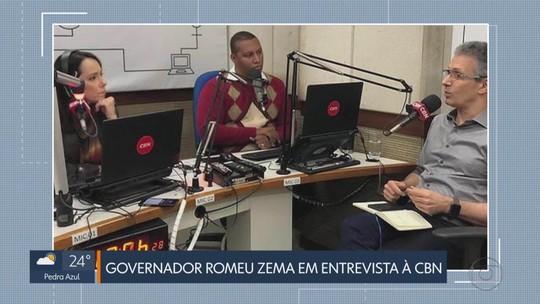 Governador Romeu Zema diz que reforma da previdência é 'extremamente necessária'