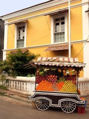 No século 16, Panjim, capital da província de Goa, estava sob domínio português; não demorou para que os europeus desenvolvessem o gosto pela manga (Foto: GETTY IMAGES via BBC)