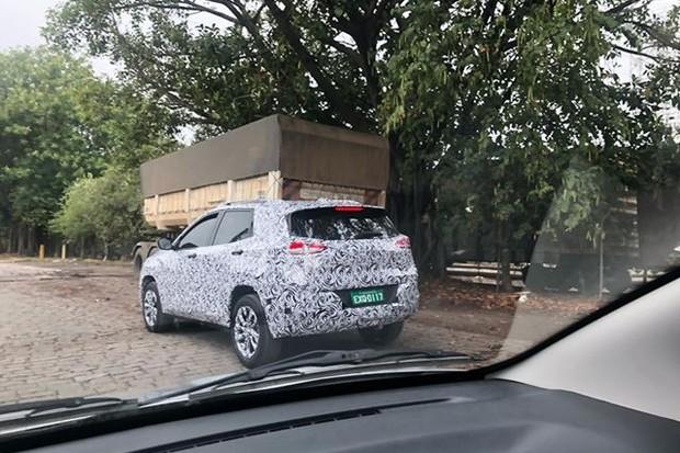 Chevrolet Tracker foi flagrado por leitor na cidade em que será produzido (Foto: Thiago Oliveira/Autoesporte)