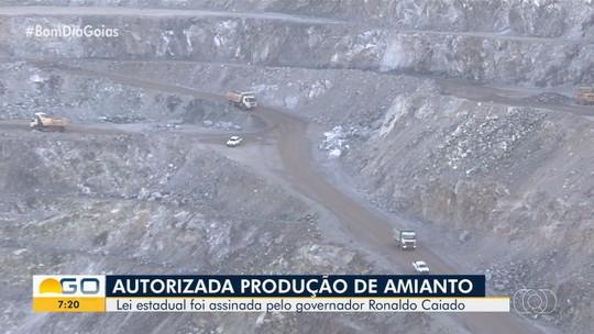Ronaldo Caiado autoriza exploração do amianto em Goiás
