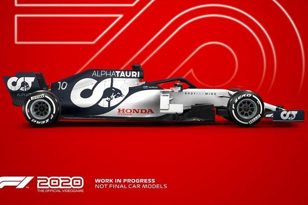 F1 2020 - Alpha Tauri (Foto: Divulgação)