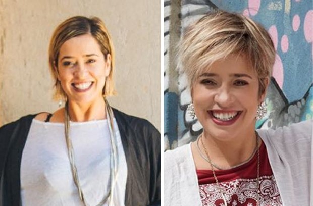 Antes e depois de Paloma Duarte (Foto: Reprodução/Instagram)