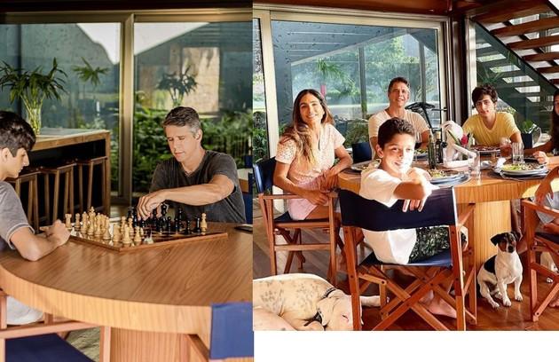 'Jogamos rummikub, totó, xadrez, dama. Nessas horas, a diferença de idade não importa muito. Damos guarida ao João' (Foto: Reprodução)