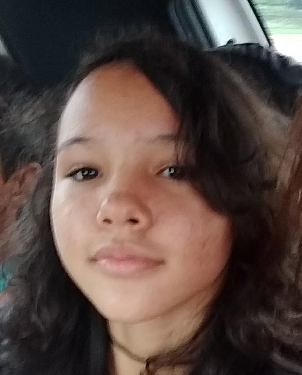 Vitória Eduarda de Souza Ferla está desaparecida desde 6 de novembro em Vilhena — Foto: Arquivo Pessoal