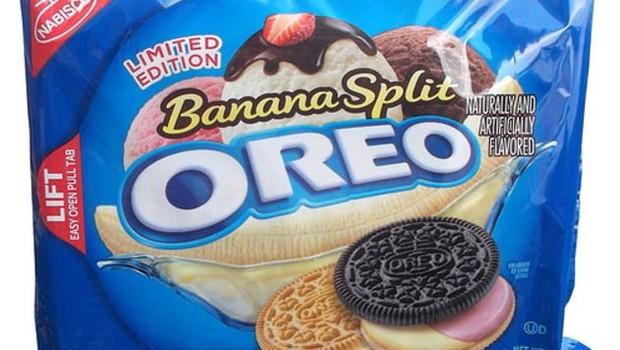 Oreo sabor banana split (Foto: Reprodução)