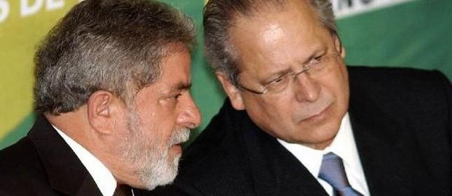 Lula e José Dirceu