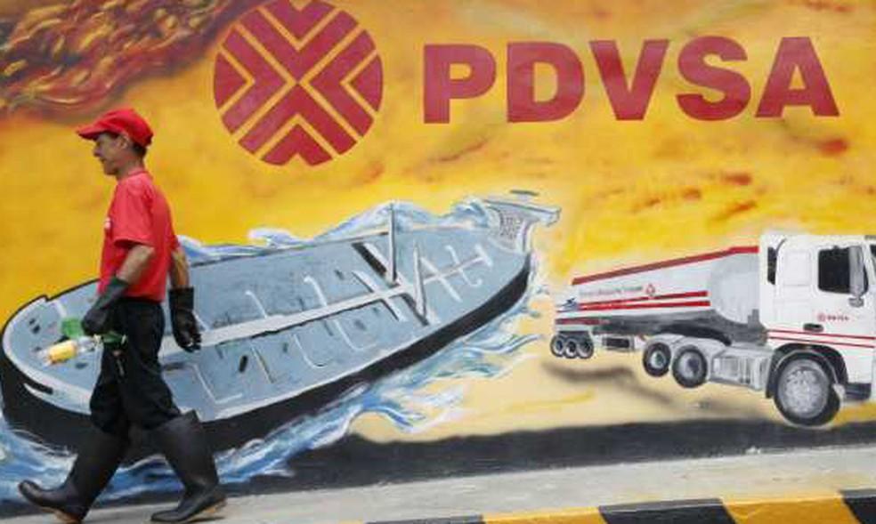 PDVSA, a estatal de petróleo da Venezuela (Foto: Reuters)