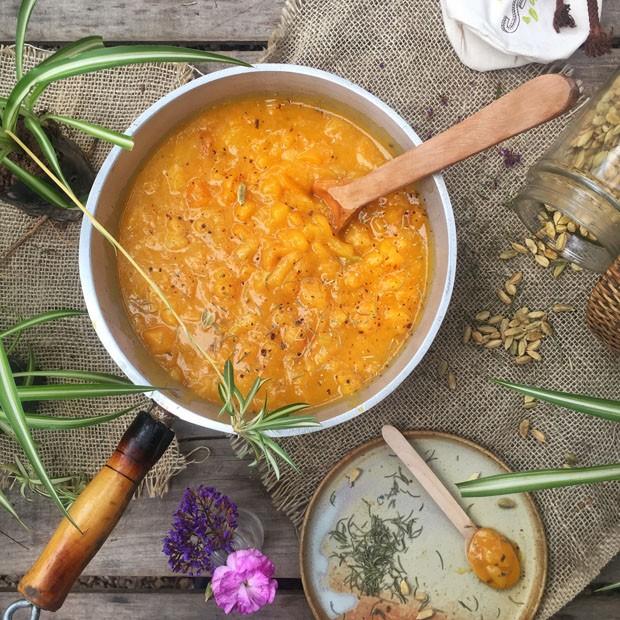 Receita de compota de damasco (Foto: Simplesmente)