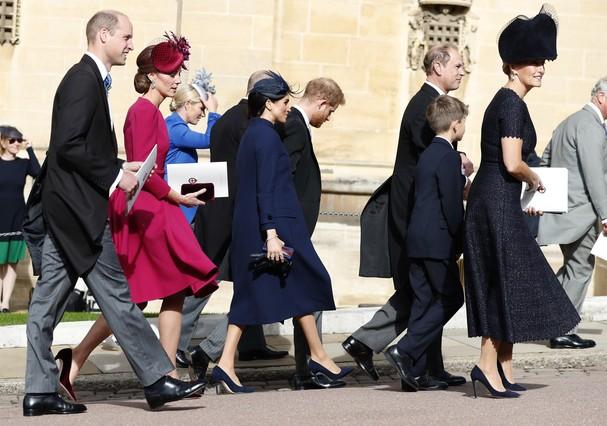 Realeza britânica (Foto: Getty Images)