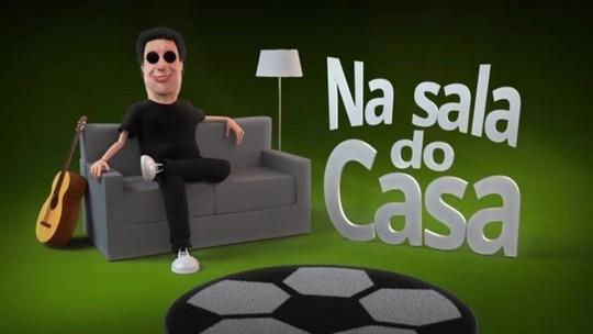 """""""Na Sala do Casa"""": Casagrande estreia novo programa no GloboEsporte.com"""