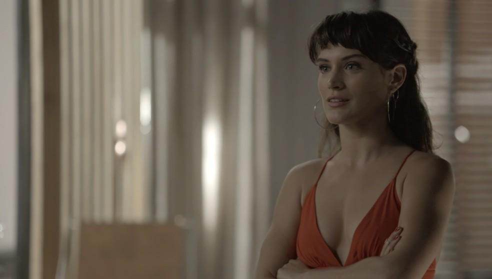 Clara v Sophia provando do prprio veneno Foto TV Globo