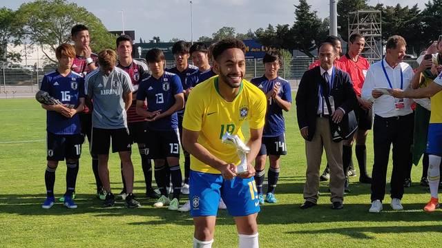 Matheus Cunha artilheiro do Torneio de Toulon 2019