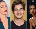 Carol Castro, Danilo Mesquita e Bruna Marquezine farão 'Condom ladies' | Reprodução/Instagram e Divulgação/Globo