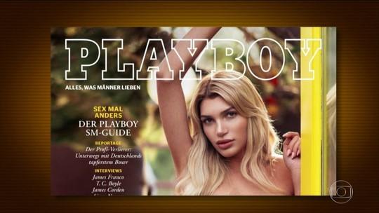 Transexual é capa da revista 'Playboy' da Alemanha