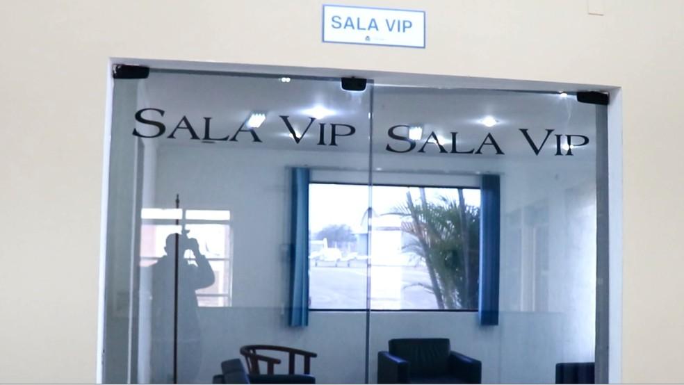Sala Vip de aeroporto será ampliada em reforma em Pouso Alegre — Foto: Prefeitura de Pouso Alegre