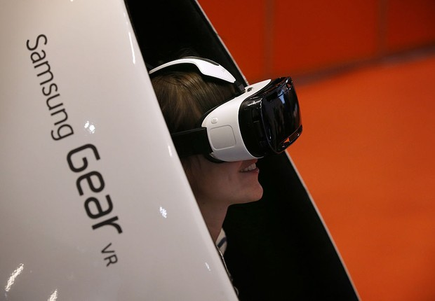 Samsung Gear VR (Foto: Peter Macdiarmid/Getty Images)