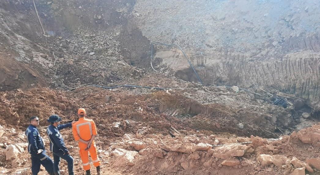 Buscas são encerradas em área de garimpo que deslizou e matou 3 no interior do Amapá