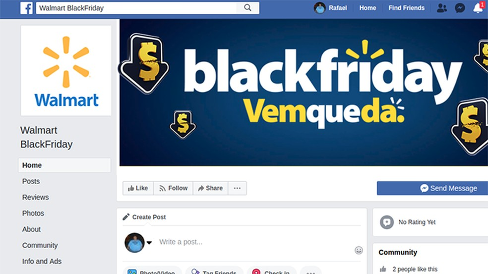 Páginas falsas imitam identidade visual de lojas legítimas — Foto: Divulgação/Psafe