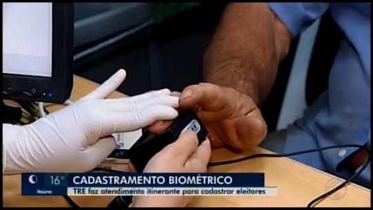 Eleitores de Matutina, Rio Paranaíba e Tiros podem realizar o cadastramento biométrico