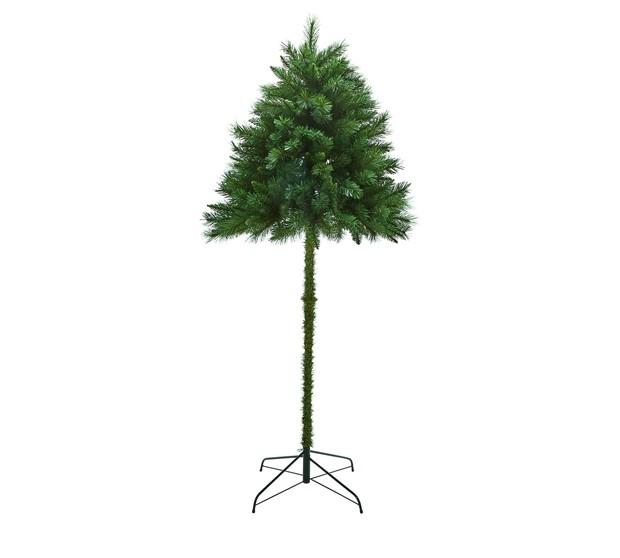 "Marca vende ""meia árvore"" de Natal para evitar ataques de pets  (Foto: Reprodução)"