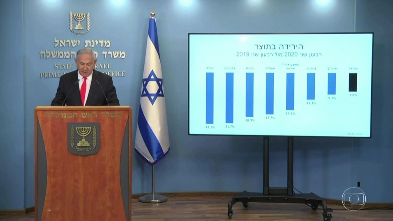 Israel de volta ao confinamento
