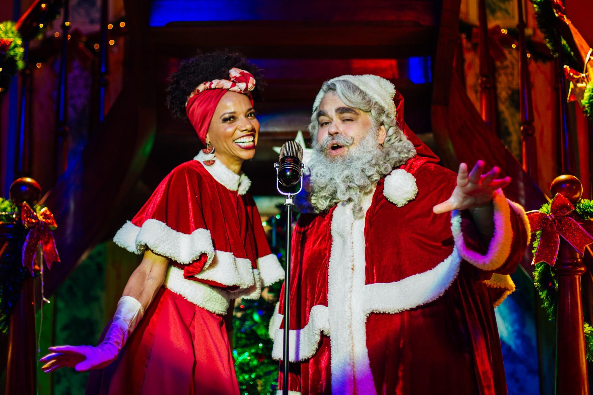 Minissérie inédita de Natal tem a primeira Mamãe Noel negra; 'representatividade importa e importa muito', afirma atriz