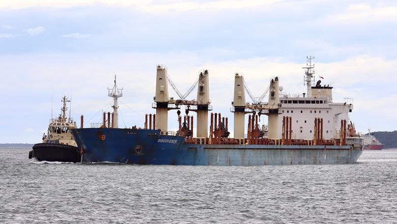 navio-soja-porto-paranagua (Foto: Claúdio Neves/Portos do Paraná)