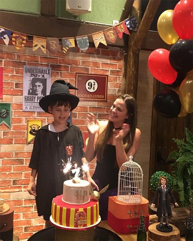 Leticia Birkheuer faz festa temática para aniversário de filho (Foto: Reprodução/Instagram)