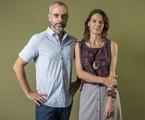 Marcos Nisti e Estela Renner | Fábio Rocha/Globo
