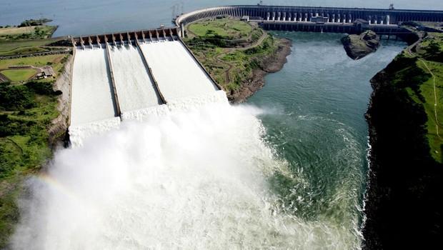 Hidrelétrica de Itaipu (Foto: Caio Coronel/Itaipu)