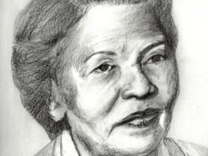 Retrato da médica maranhense Maria Aragão (Foto: Letícia Desterro)