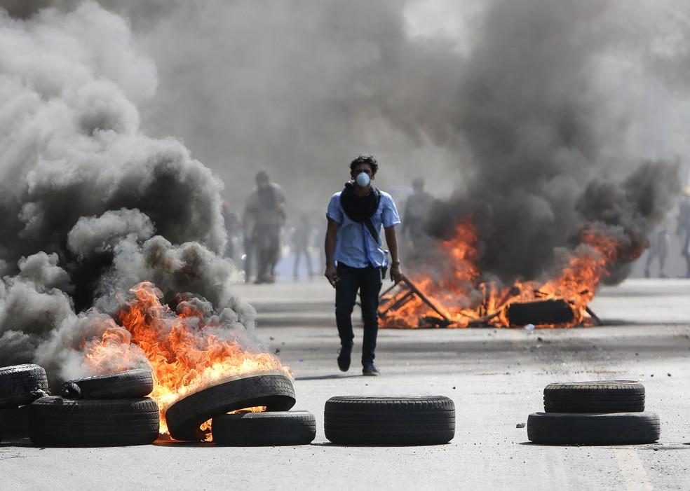 Protestos na Nicarágua já deixam mais de 20 mortos (Foto: AP Photo/Alfredo Zuniga)