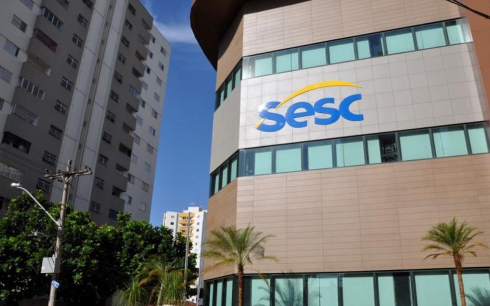 Sesc Goiâia, Goiás — Foto: Reprodução/Site do Sesc