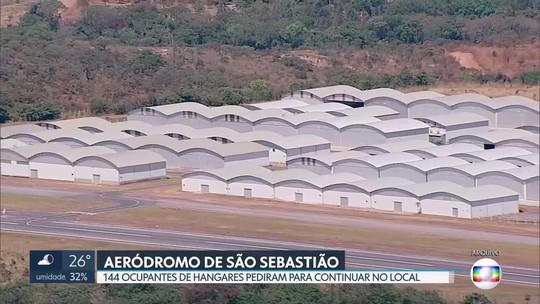 144 ocupantes de hangares no aeródromo de São Sebastião querem continuar a operar no local