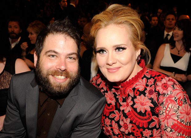 LOS ANGELES, CA - FEBRUARY 10:  Adele (R) and Simon Konecki attend the 55th Annual GRAMMY Awards at STAPLES Center on February 10, 2013 in Los Angeles, California.  (Photo by Kevin Mazur/WireImage) (Foto: WireImage)
