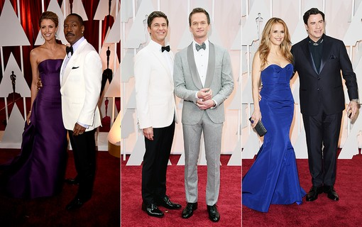 Eddie Murphy e Paige Butcher; Neil Patrick Harris e David Burtka; Kelly Preston e John Travolta