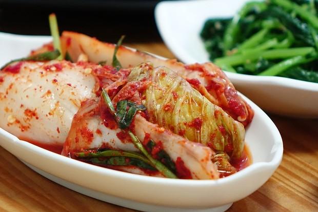 O Kimchi faz parte de todas as refeições, diariamente (Foto: divulgação)