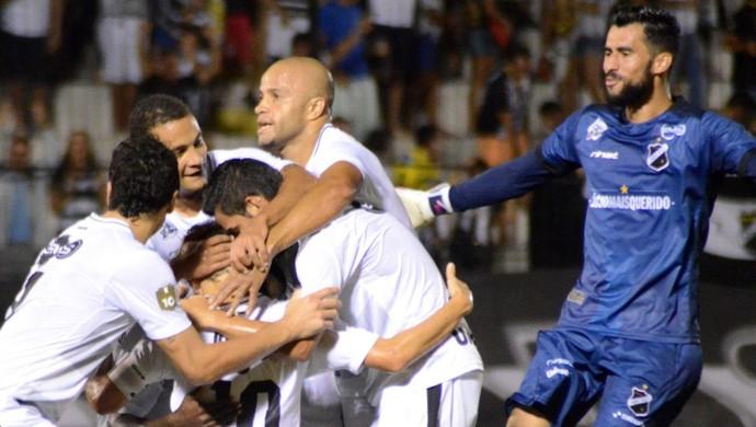 Comemoração do ABC Vaná Lúcio Flávio (Foto: Frankie Marcone/ABC)