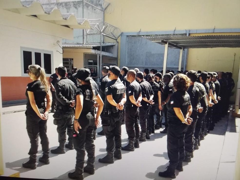 Sejus abre processo seletivo para inspetor penitenciário — Foto: Divulgação/Sejus-ES