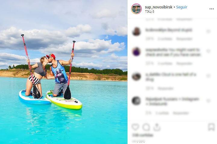 'Maldivas siberianas' na Rússia atraem turistas em busca de fotos, mas águas são tóxicas