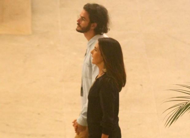 Fátima Bernardes e Túlio Gadêlha (Foto: Daniel Delmiro/AgNews)
