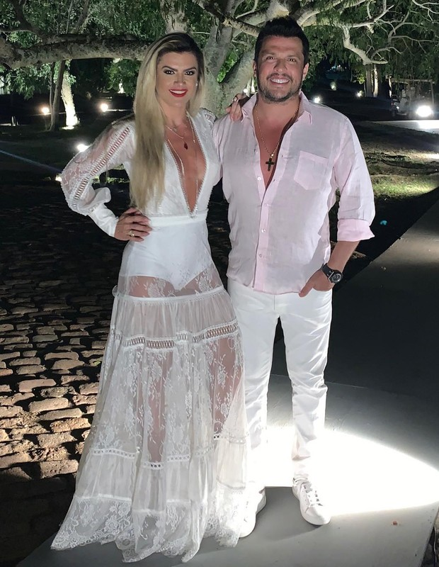 Ceará e Mirella Santos (Foto: Instagram/Reprodução)