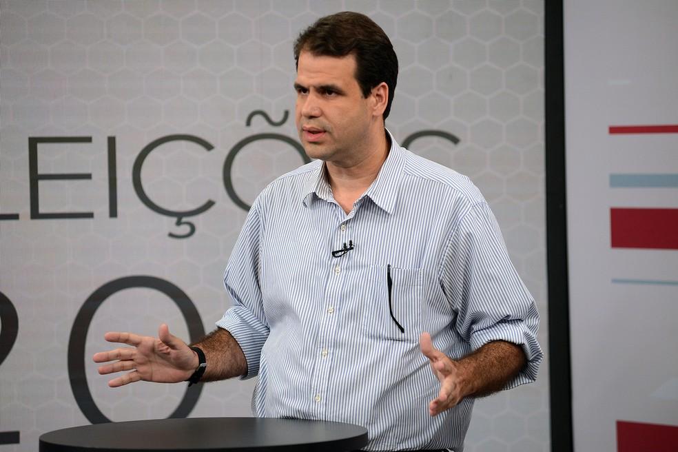 O líder do SD na Câmara, deputado Áureo (RJ) (Foto: Alexandre Durão/G1)